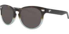 Costa Del Mar Sunglasses DEL 207 OGGLP Matte Tide Pool Frame / Gray 580G Lenses