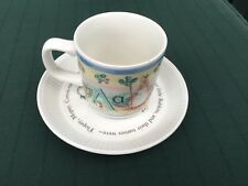 Wedgwood Peter Rabbit Plate And Cup Christening Gift