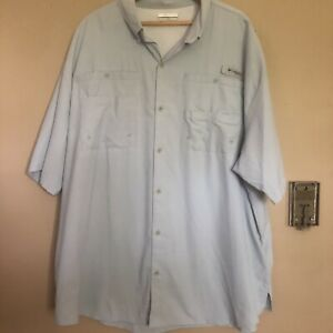NEW COLUMBIA Men's PFG Bahama II Short Sleeve Fishing Shirt SS UPF 30 1011651