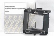 Exc+++ Mamiya RZ67 G Adapter for Kodak DCS 465 Back *M524300