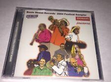 New Sealed Basin Street Records 2004 Festival CD New Orleans Jazz Blues