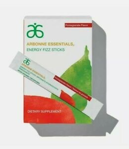 Arbonne Strawberry, Citrus or Pomegranate Energy Fizz Sticks - 30 Sticks*FAST*