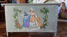 Dollhouse Miniature Artisan Signed Hemy Eppich Chest Cinderella Fairytales  1:12