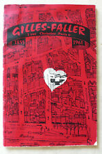 Catalogue Photo Gilles Faller, 1961, 112 pages