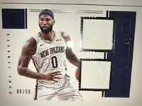 2017-18 NBA Panini Encased DeMarcus Cousins Dual Jerseys New Orleans /99