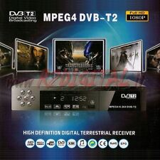 DVB-T T2 MPEG4 FULL HD DIGITALE TERRESTRE MEDIA PLAYER USB HDMI LETTORE MKV DiVX