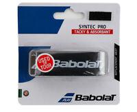 Babolat Syntec Pro Grip Tennis Racket Racquet Black 1 PC Tacky Absorbant 139381