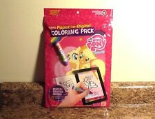 My Little Pony Paper To Digital Coloring Pack Digital Crayon NEW