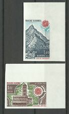Andorre Andorra Europa Maison Charlemagne Non Denteles Imperfs Proofs ** 1978