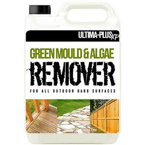 Patio Cleaner Mould Algae Moss Killer 25% Stronger Drive Decking Paving 1 x 5L