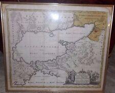 Nova Mappa Geographica Map of The Sea Of Avoz & Surrounding Areas 1730