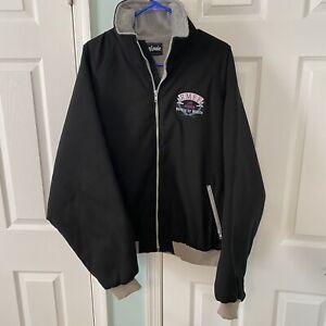 King Louie Rocky Mountain Elk Foundation Life Member Fleece Lined Jacket Sz 2XL