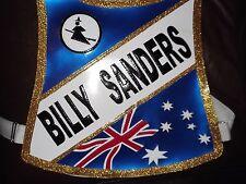 Billy Sanders Speedway Race Chaqueta