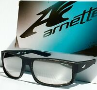 f656c2c6603 NEW  Arnette BOXCAR Matte Black Tumbled Silver Mirrored Lens Sunglass 4224  2356