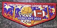 2014 (205) Nguttitehen (S7) Conclave - Lincoln Heritage Council BSA/OA