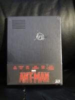 Ant-Man 3D/2D Blu-Ray [Czech] Steelbook New Sealed Region Free Marvel MCU Rare
