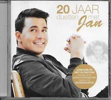 JAN SMIT - 20 jaar Duetten met jan CD Album 20TR Holland 2016 Julio iglesias NEW