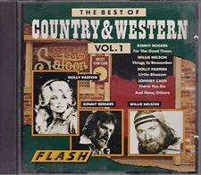 Best of country & western 1 Johnny Cash, Frankie Laine, donna Fargo, Ro... [2 cd]
