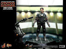 "Tony Stark Mech Test Version 1/6 Iron Man Marvel MMS116 12"" Figur Hot Toys"