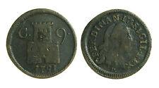 pci0223) Regno di Napoli Ferdinando IV 9 cavalli 1791
