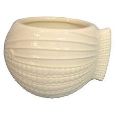 Threshold Mini Fish Stoneware Ceramic Pot Planter Cream White