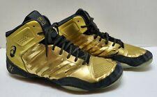 Asics Mens JB Elite 3 Wrestling Shoe Olympic Gold Black Men's size 13 J702N