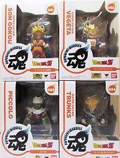 Dragon Ball Z Tamashii Buddies lot of 4 S.Saiya Son Gokou Vegeta Trunks Piccolo