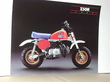 HONDA Z50R 1987 DECALS KIT COMPLETE   REPRO