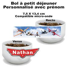 Bol à petit déjeuner Planes V1 Disney personnalisé avec prénom (mug, tasse)