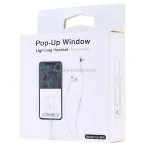 Genuine Earpods Pop-up Window For Apple ip7, 8, X 11 & 11pro Ipads Visual...