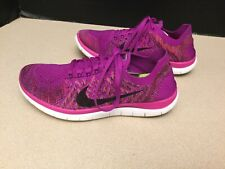 2dad36e2c329c Womens Nike Free Flyknit 4.0 Running Shoes. Size 8. Good Condition!