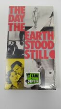 The Day The Earth Stood Still vintage 50's VHS TAPE drama/sci-fi vhs movie