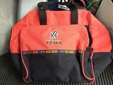 New listing K2 Ski / Snowboard BOOT BAG. Red.