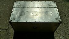Moistener Purifier antique vintage box pressed aluminum 1900s metal old case