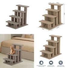PawHut Pet Stairs 4 Steps Dog Cat Little Older Animal Climb Ladder