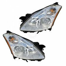 Headlights Headlamps Halogen Left & Right Pair Set for 10-12 Altima Sedan NEW
