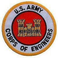 ARMY CORPS OF ENGINEERS EMBROIDERED MILITARY PATCH