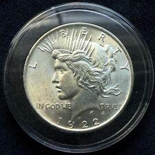 1922-P U.S. Silver Peace Dollar in Airtite Case
