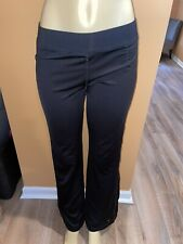 Danskin Now Womens Dri-more Semi-fitted Gym Yoga Pants Size Small 4-6 Black