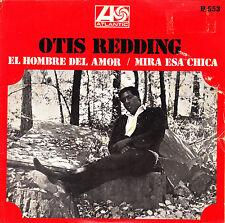 "7"" OTIS REDDING el hombre del amor (love man) 45 SPANISH ATLANTIC PS 1969 SOUL"