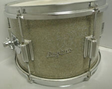 """1960's Rogers TOWER MODEL 12"""" TOM in SILVER SPARKLE for YOUR DRUM SET! LOT #K265"""