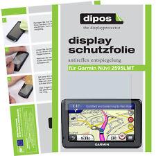 3x Garmin Nüvi 2595 Schutzfolie matt Displayschutzfolie Folie dipos Displayfolie