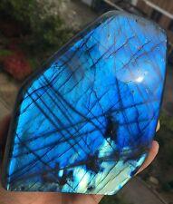 1307gAAAA++++ Madagascar Labradorite natural crystal polishing stone specimen