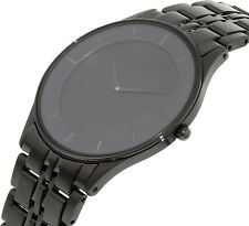 Citizen Eco-Drive Sapphire Black IP Stiletto Japan Watch Model: AR3015-53E