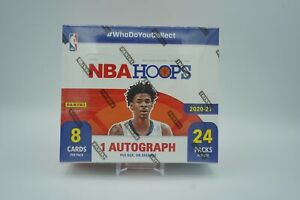 2020-21 Panini NBA Hoops Basketball *Sealed* RETAIL BOX 24-Packs 1 AUTO FAST S&H