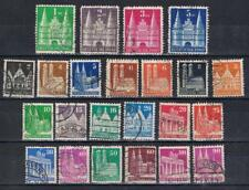 Germany 1948 Definitives incomplete to 5dm  SG A74-101 Mi 73-100  Used see note