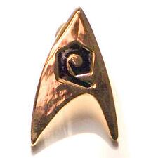 Rare Vintage Star Trek Metal Division Insignia Promotional Pin Badge