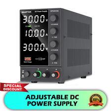 DC 30V 10A LED Digital Regulated Linear Adjustable Power Supply Lab Test 500W US