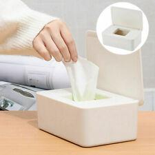 Wet Tissue Dispenser Box Desktop Seal Baby Wipes Paper Storage Box Holder w/ Lid