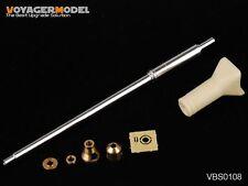 Voyager VBS0108 1/35 German King Tiger Barrel (Porsche Turret Late Version)